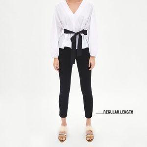 Zara black jeans size 4